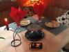 romatisches-kc3a4sefondue, brunch auf voranmeldung, Chäs Fondue, Raclette, Mini Pizza selber machen